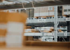 Packaging distribution warehouse